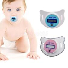Toddler Infant Baby LCD Pacifier Thermometer Digital Oral Thermometer