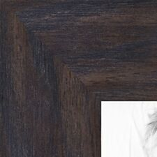 ArtToFrames 1.75 Inch Black - Distressed Wood Picture Poster Frame ATF-82223