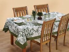 New Tablecloth Luxury Catering Banquet Table Cover Cloth 100% Cotton Tableware