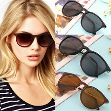 Unisex Womens Mens Retro Vintage Cat Eye Round Glasses Metal Frame Sunglasses DS