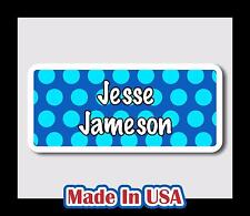 42 Custom Personalized Waterproof Name Labels Stickers Tag Kids Baby Bottle Care