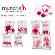 Munchkin Baby Toddler Girls Bow Flower Headband Hair Bands & Hair Clips Accesory
