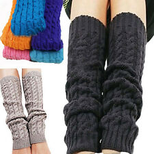 New Women's Fashion Crochet Knit Boot Cuffs Toppers Leg Warmers Leggings Socks