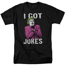 "Batman Classic TV Series ""Got Jokes"" Black T-Shirt or Tank-Adult, Child, Toddler"