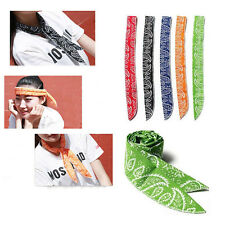 1PC Summer Neck Cooler Scarf Body Ice Cool Cooling Wrap Necktie Sport Headband