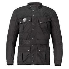 Triumph Quilted Barbour Men's Textile Motorcycle Jacket Black MTHS16512
