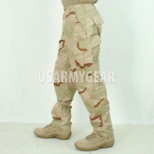 Made in USA ARMY 3 DESERT Camo BDU Fatigues Military Uniform Pants Trousers USGI