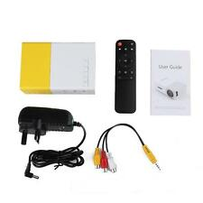 Home Outdoor Cinema Theater Projector Mini Pocket Portable Micro LED Projector