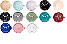 O'CLOCK mechanism cristal case glitter colors dials crystal fashion watch