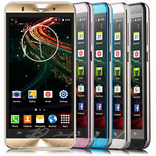 "LUXURY 5"" Android Smartphone T-Mobile AT&T 2SIM Quad Core 3G Cell Phone Unlocked"
