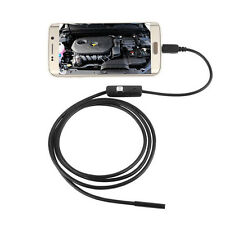7mm Android Phone Endoscope IP67 Inspection Borescope HD LED Camera video JUST