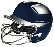 Easton Natural Two-Tone Junior Batting Helmet with Mask
