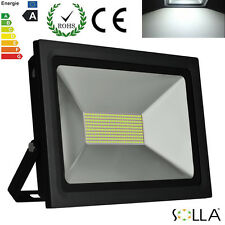2X100W LED Flood Spot Light Outdoor Landscape Security Garden Lamp Cool White