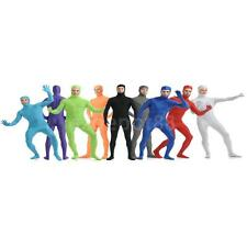 Mens Womens Adult Open Face Full Body Spandex Suit Zentai Bodysuit Party Costume