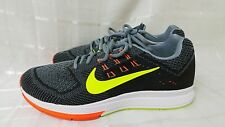 Nike Men's Zoom Structure 18 Running Shoes 683731-001 Grey/Black  181Q
