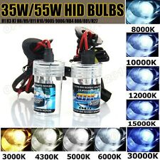 2x 35W/55W Hid Headlight Headlamp Xenon Bulbs Replacement Car Truck Lights Lamps
