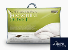 Luxury Soft As Down Hotel Quality Single Bed Microfibre Duvet Quilt + 2 Pillows
