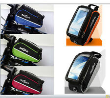 Bicycle Cycle iPhone Frame Bag Case Pouch Carrier Pannier Mobile Phone Holder
