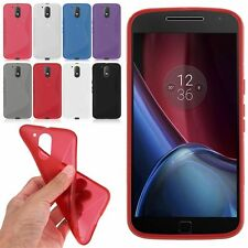 Slim Soft S-Line Wave TPU Gel Cover Case Skin fr Motorola Moto G4 / Moto G4 Plus