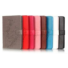 New Embossed Flip Stand Leather Card Slot Wallet Holder Case For iPad 2 3 4 5 6