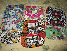 Vera Bradley NWT Clip Zip ID ~ Choice of Pattern~Coin/Card holder/case ~MSRP $12