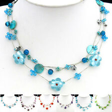 Special Offer, Coloured Glaze Flower Butterfly Necklace Bracelet Earrings