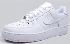 Nike AIR FORCE 1(GS) LOW 314192-117 'WHITE/WHITE' sz3.5Y-7Y