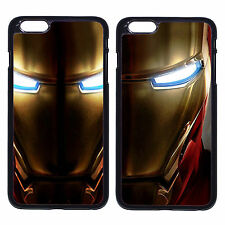 Iron Man Avengers Golden Mask Case Cover For Apple iPhone iPod & Samsung Galaxy