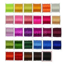 0.5 mm 50 yards Stretch Polyester Braided Cord Roll String Jewelry Making DIY