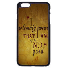 Harry Potter Quotes I solemnly swear For Apple iPhone iPod & Samsung Galaxy Case