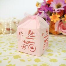 Carriage Hollow Luxury Wedding Party Sweets Cake Candy Gift Favor Boxes Bags