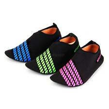 Skin Shoes Water Shoes Aqua Sport Socks Exercise Shoes Beach Swim Slip On Surf