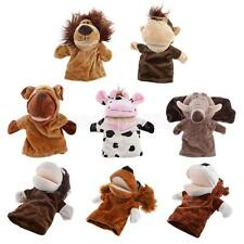 Soft Lovely Zoo Animals Head Kids Children Gifts Educational Hand Puppet Toy