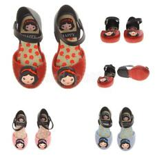 Summer Children Kids Girl Shoe Toddler Cartoon Princess Sandals Jelly Rain Shoes