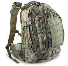 Quick Release Clinch Sternum Strap Padded breathable Mesh Back Tactical Pack
