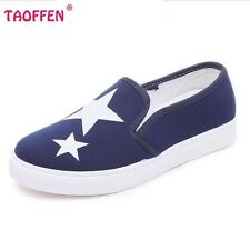 Ladies canvas Shoes Fashion Tide Style Spring Summer Women Flat Shoes