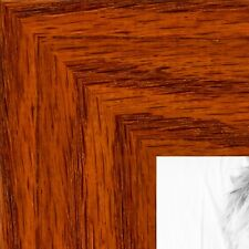 ArtToFrames 1.5 Inch Honey Stain on Oak Wood Picture Poster Frame 80206 SM
