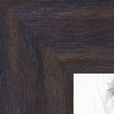 ArtToFrames 1.75 Inch Black - Distressed Wood Picture Poster Frame 82223 SM