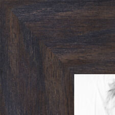 ArtToFrames 1.75 Inch Black - Distressed Wood Picture Poster Frame 82223 LG