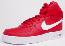 Nike AIR FORCE 1 HIGH '07 315121-606 'GYM RED/ WHITE-WHITE' size 8-13