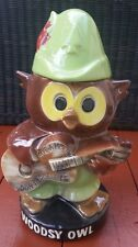 "Vintage Woodsy Owl Cookie Jar  ""Give A Hoot Don't Pollute"" Mc Coy Cookie Jar"