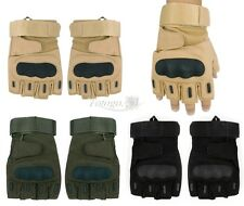 Outdoor Military Tactical Airsoft Hunting Shooting Motorcycle Gloves Half Finger