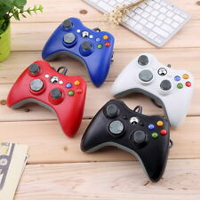 USB Wired Joypad Gamepad Controller For Microsoft Xbox & Slim 360 PC Win 7/8 M2