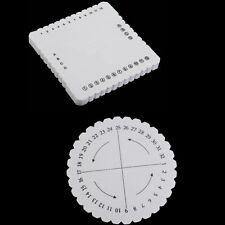 10mm Kumihimo Square Braiding Disc Plate Weaving Disk Braid Cord Plate