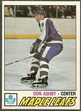 1977-78 OPC #365 Don Ashby Toronto Maple Leafs ROOKIE CARD