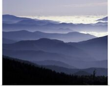 Poster Print Wall Art entitled Great Smoky Mountains National Park, Southern
