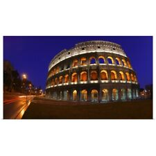 Poster Print Wall Art entitled The Colosseum in Rome, Italy