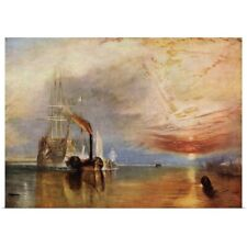 Poster Print Wall Art entitled The Fighting Temeraire By J.M.W. Turner, From The