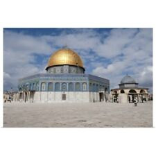 Poster Print Wall Art entitled Israel, Jerusalem. Dome of the Rock