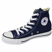 CONVERSE TRAINERS CHUCK TAYLOR ALL STAR HI NAVY UNISEX SNEAKERS